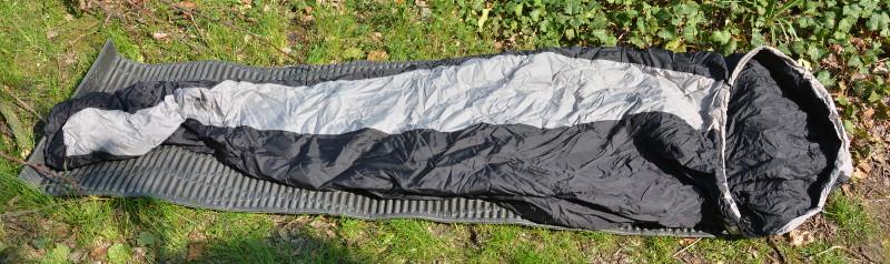 600g Schlafsäcke eignen sich nur für den Sommer
