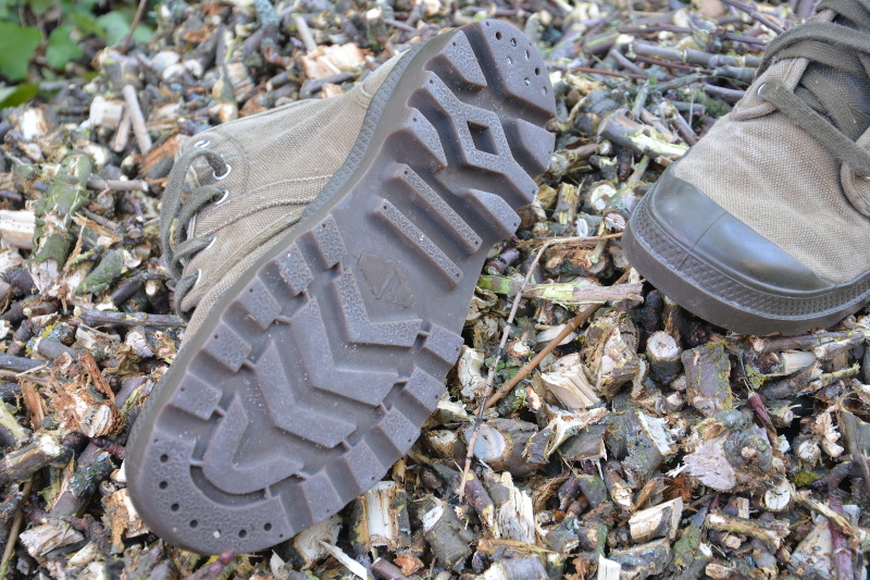 desert boot - Profilsohle der Wanderschuhe