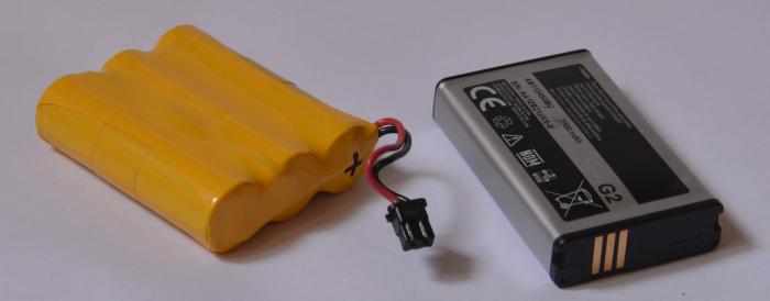 Akku-Blöcke für outdoor - Lampen und -Geräte