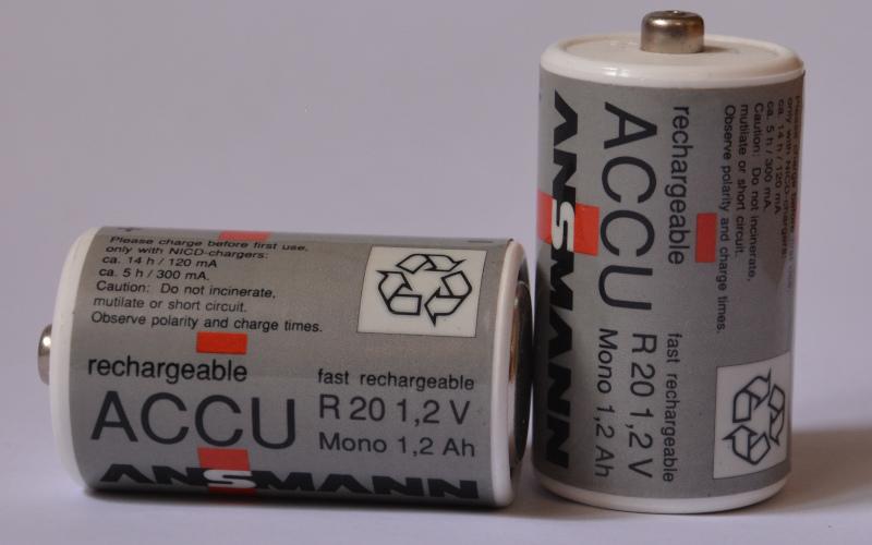 Standard- Akkus R20 - Energie für LED-Lampen
