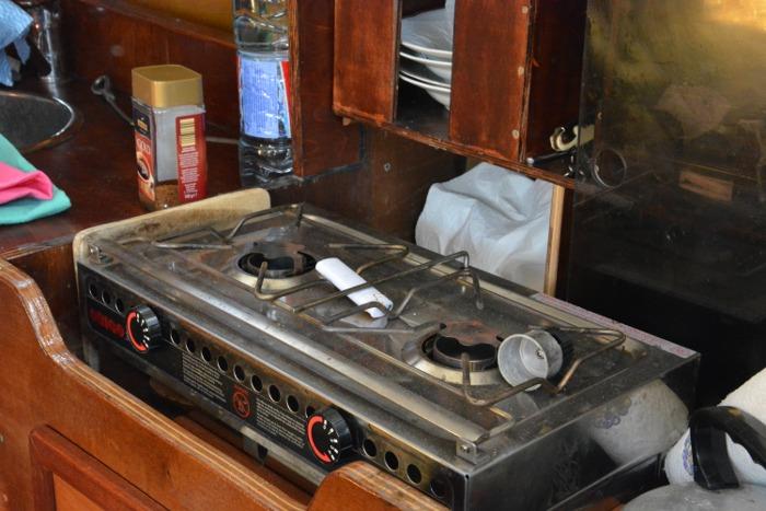 Spiritus Campingkocher für die Yacht oder das Wohnmobil