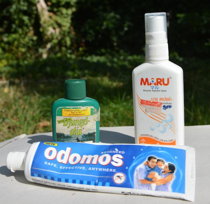 Mückenschutz international - verschiedene Mücken - Abwehrmittel