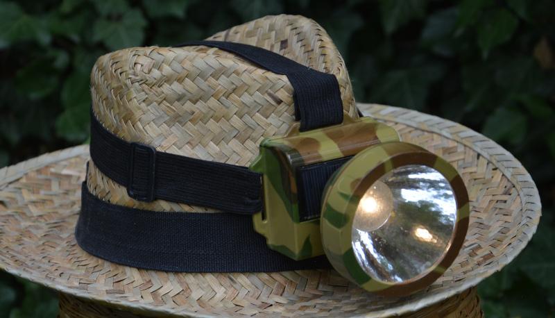 Stirnlampe mit Akku-Block