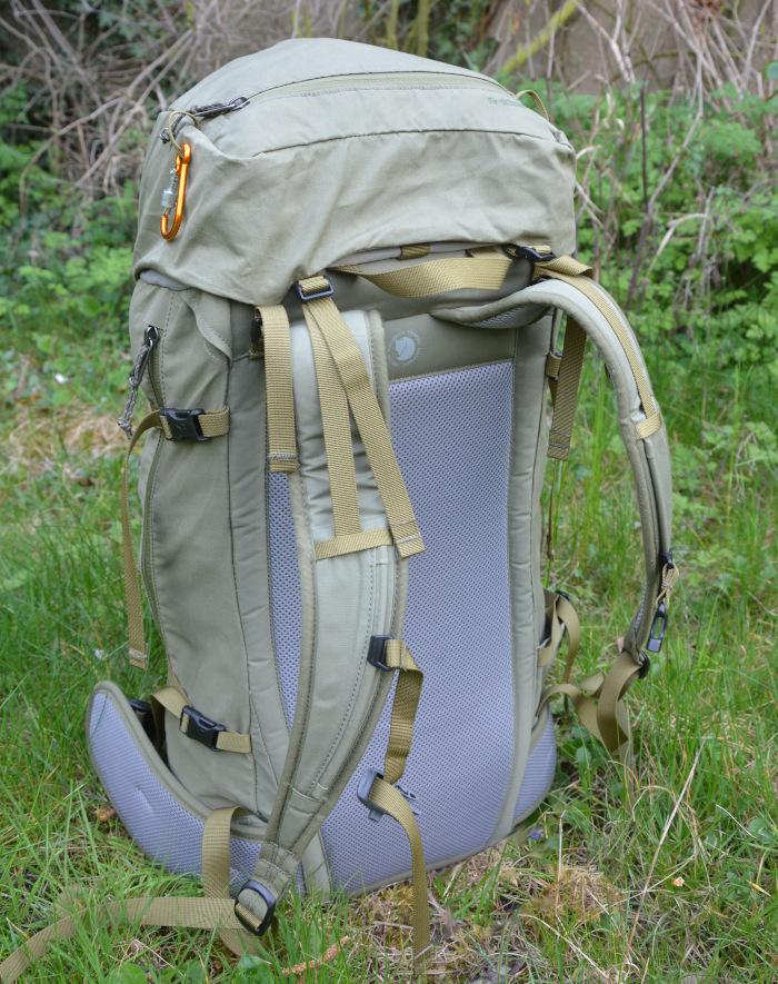 Wanderrucksack Abisko Rücken