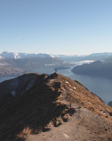 Roys Peak Wanderung