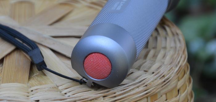 trekking LED Stab- Taschenlampe Einschaltknopf ledlenser