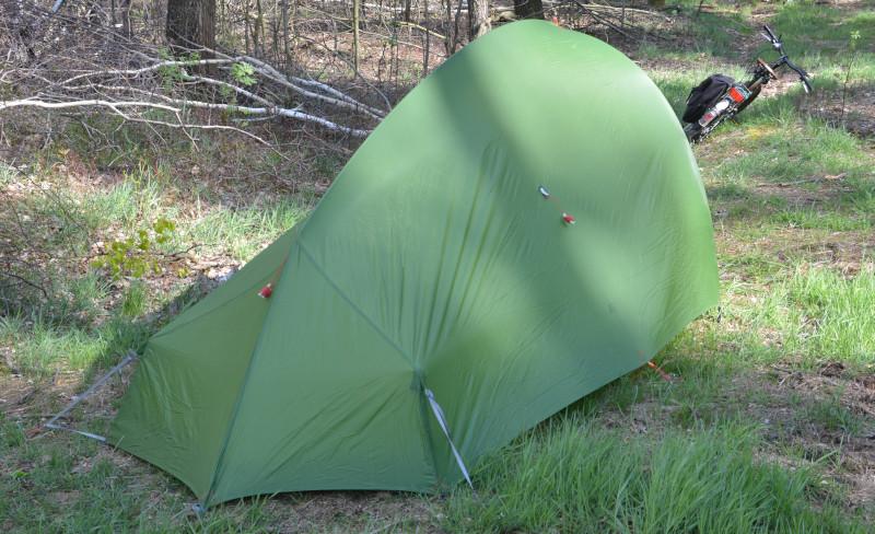 Das Taurus Zelt 2 Personen finden Platz