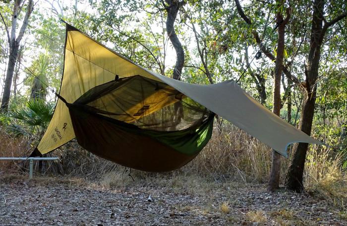 Tarpolin für Hängematte outdoor - tarptent