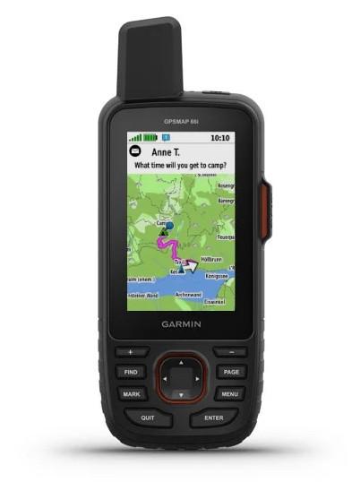 outdoor GPS Gerät Garmin GPSMAP 66i für Abenteuer und Expeditionen